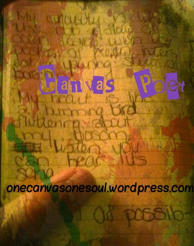 Excerpt 1 of 3 from my  Poetry Scraps (ideas & poetry) mini-journal