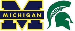 Michigan-Michigan Statelogos